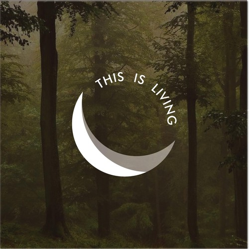 "Hammock logo with the title ' Logo for outdoor brand ""This is living""'"