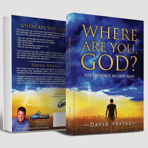 Jesus design with the title 'Where are You God?'