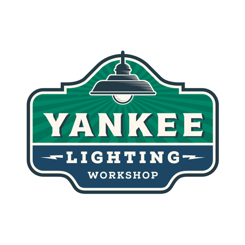 Home improvement logo with the title 'Yankee Lighting'