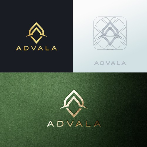 Chocolate brand with the title 'ADVALA'