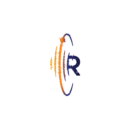 Orbit logo with the title 'Logo concept for Ripple Studio. '
