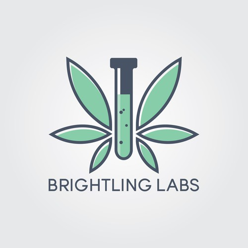 Dispensary logo with the title 'Brightling Labs'