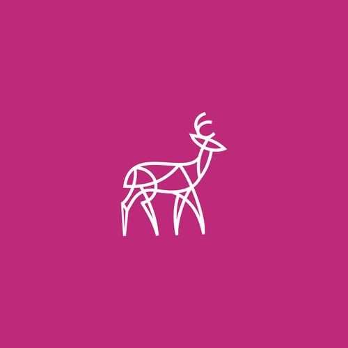 Kudu logo with the title 'Modern Logo Design'