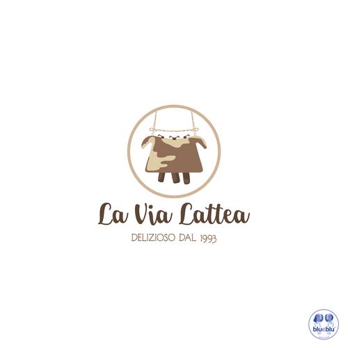 Bell design with the title 'La Via Lattea'