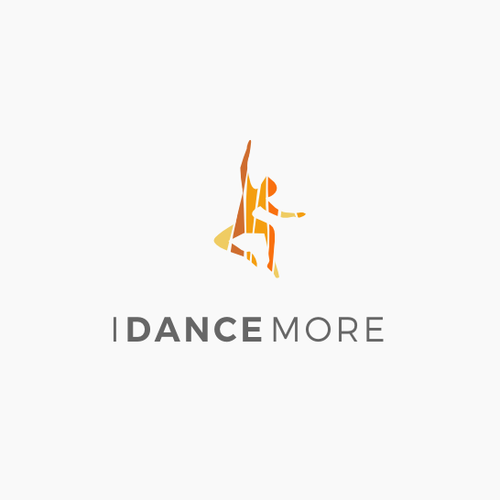 Diversity design with the title 'Modern logo for dancing classes'