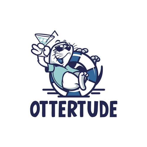 Sailing design with the title 'Ottertude'