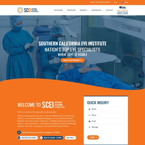 Coding website with the title 'Bold and Modern Medical Clinic website'