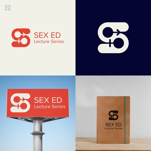 Alphabet design with the title 'Sex Ed Lecture Series'