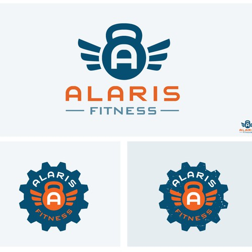 Uplifting design with the title 'Seeking Strong/Uplifting Logo Design'