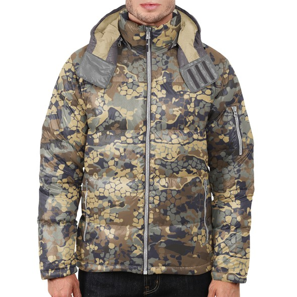Camouflage design with the title 'camouflage'