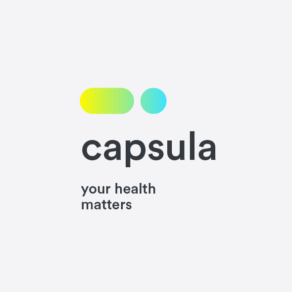 Meaningful design with the title 'Capsula'