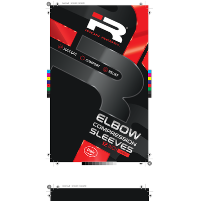 Elbow Compression Sleeve Package