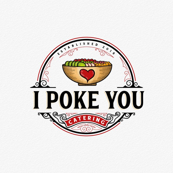 Yummy design with the title 'I Poke You'