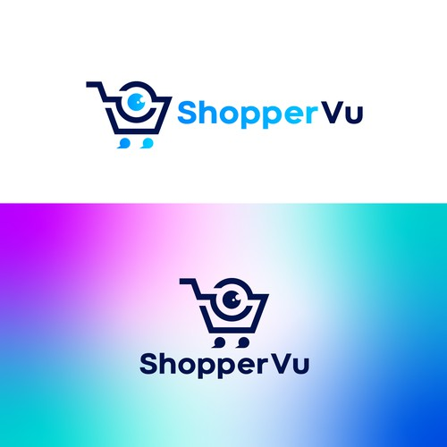 Cart logo with the title 'ShopperVu Logo'