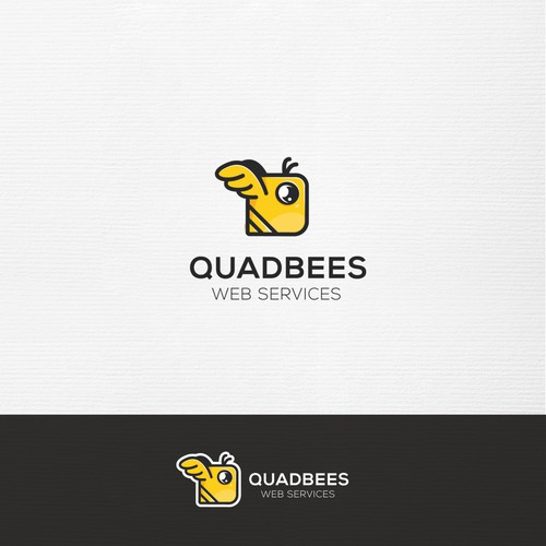 Square logo with the title 'square bee'