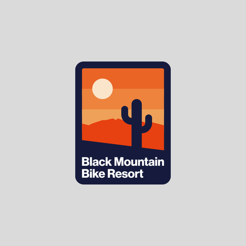 Cactus logo with the title 'Mountain Bike Resort'