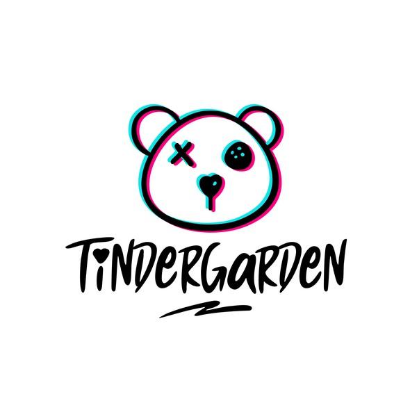 Teddy logo with the title 'Tindergaden'
