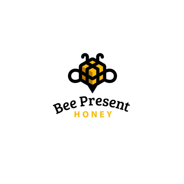 Gift logo with the title 'Bee Present'