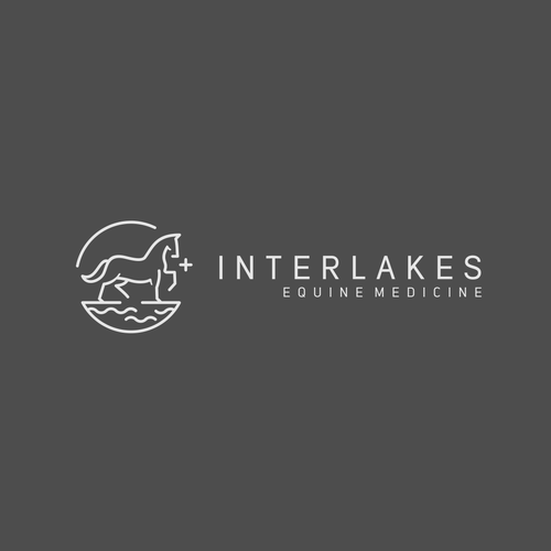 Medical brand with the title 'Interlakes'