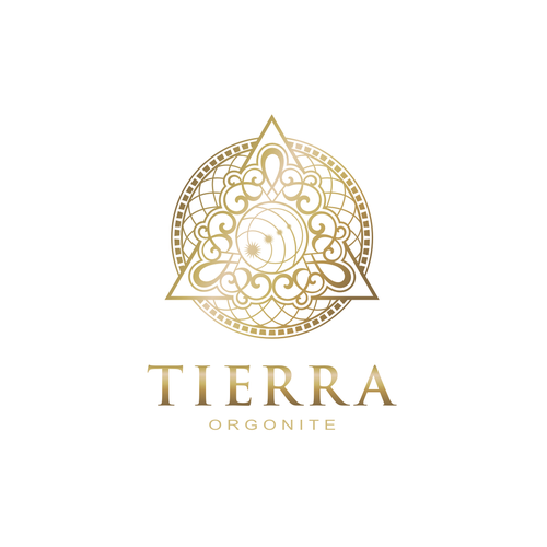 Millionaire logo with the title 'Tierra Orgonite logo'