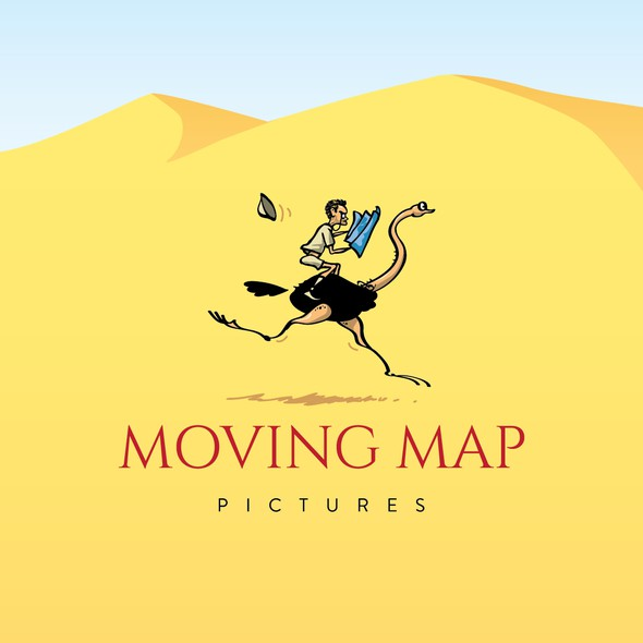 Poster logo with the title 'Moving Map Pictures'