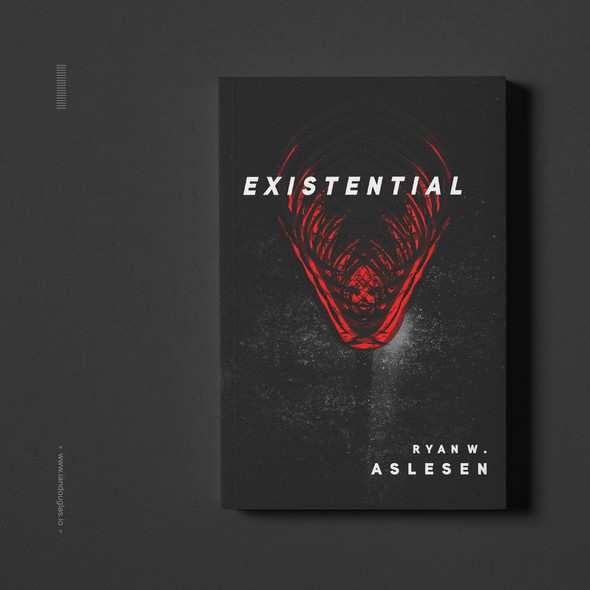 Terror design with the title 'Primal cover for a Sci-Fi/Horror book'