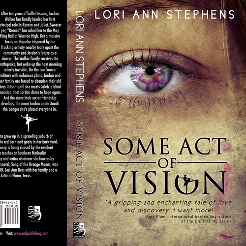 Mystery book cover with the title 'ASD Publishing seeks BOOK COVER design for YA NOVEL'