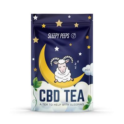 Sleepy Tea Packaging design