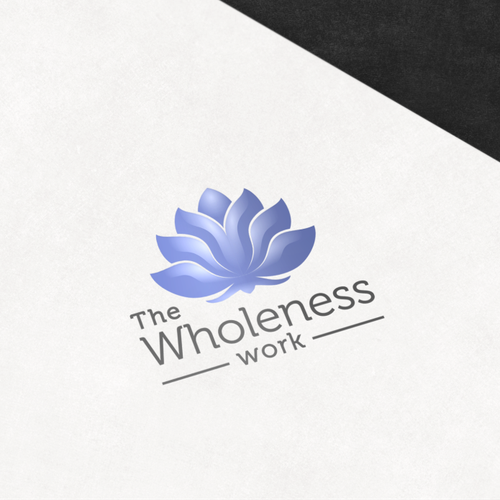 Soul logo with the title 'Logo of the resurrection and the beauty for The Wholeness Work'