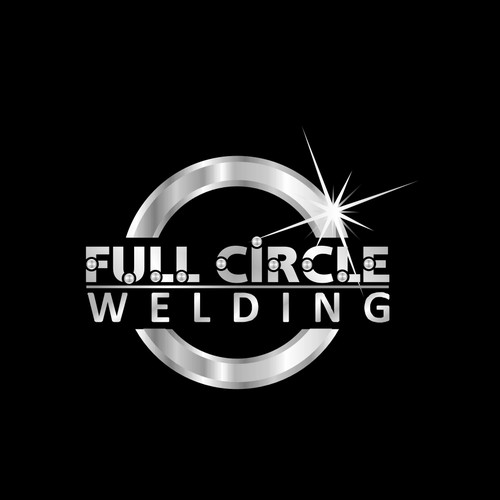Welding logo with the title 'Full Circle Welding logo'