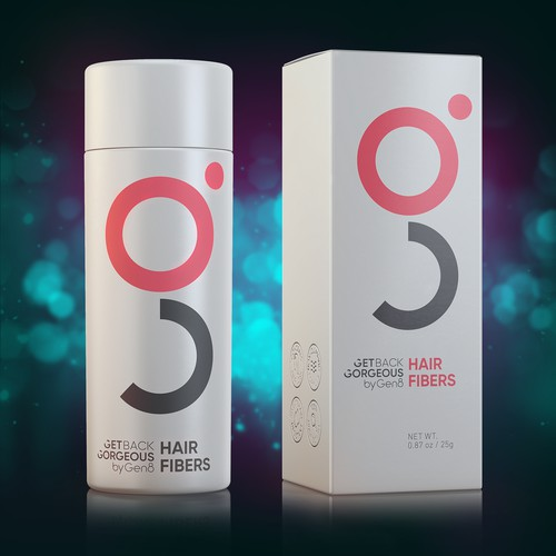Shampoo design with the title 'Hair Care Product'
