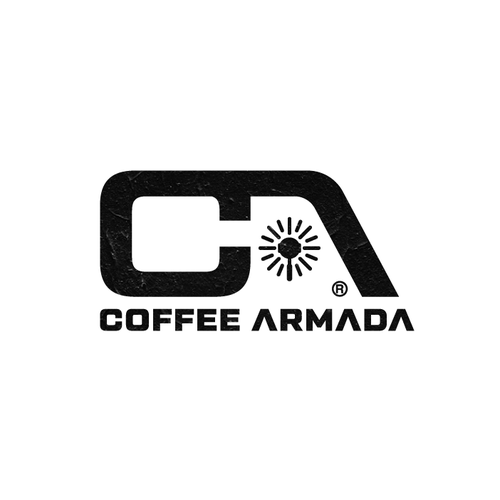 Barista design with the title 'Coffee Armada logo design'