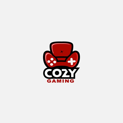 Fluffy logo with the title 'Cozy Gaming'