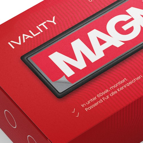 Appealing design with the title 'Bold Premium Packaging'
