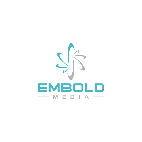 Commercial logo with the title 'Embold Media'