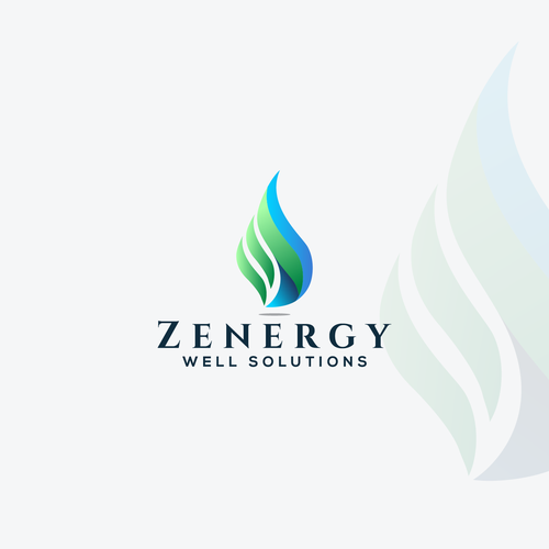 Energy brand with the title 'Brand identity for Zenergy'
