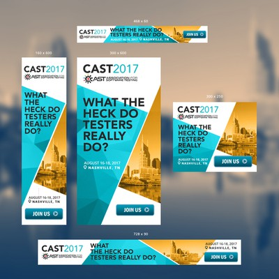 Banner ads design for AST