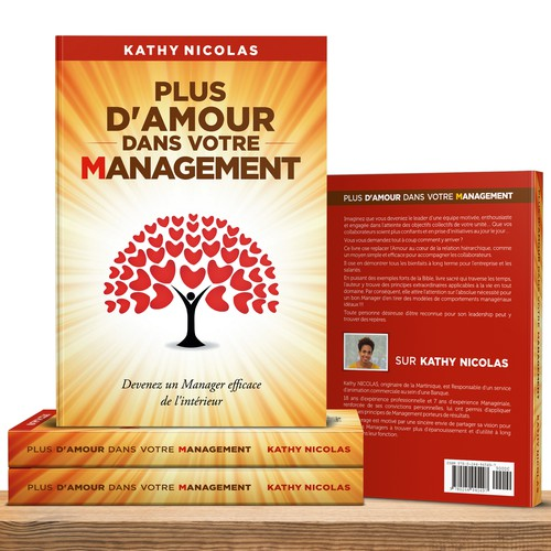 Relationship book cover with the title 'More love in your management'