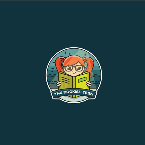 Reading logo with the title 'The Bookish Teen'