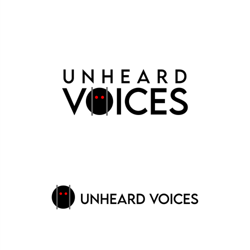 Crime logo with the title 'Unheard Voices'