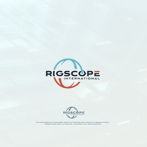 Globe brand with the title 'Logo for rigscope'