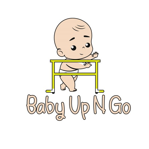 Go logo with the title 'Baby Up N Go'