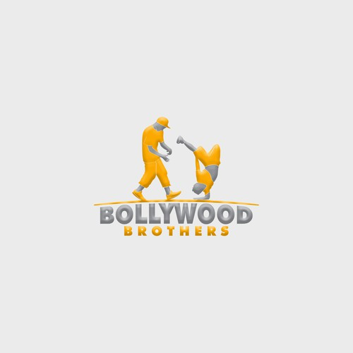 "Dance design with the title 'Design a logo for 2 young dancing kids ""Bollywood Brothers""'"