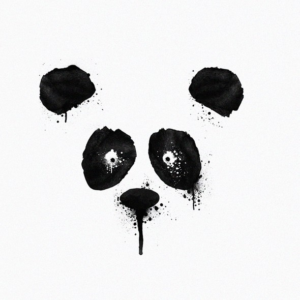 Splash t-shirt with the title 'Inking Panda'