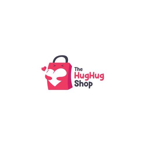 Hug logo with the title 'Hug Shop'