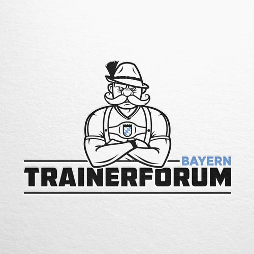 Trainer design with the title 'Bavarian Trainer Forum Logo'