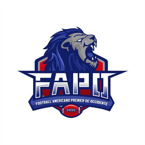 American football logo with the title 'FAPO FOOTBALL AMERICANO PREMIER DE OCCIDENTE'