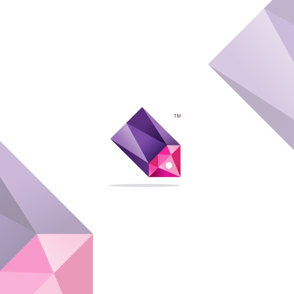 Jewel design with the title 'Polygonal logo for Jewel Deals'