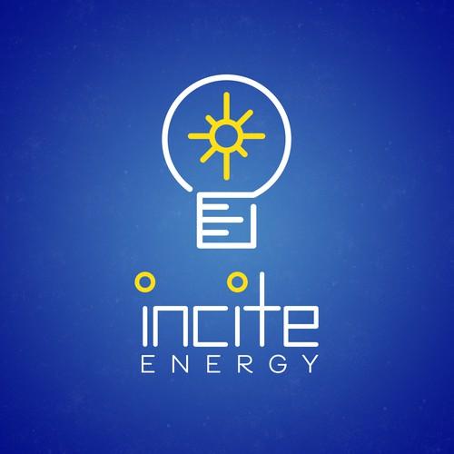 Sunburst logo with the title 'Modern Logo for Energy Company v3'