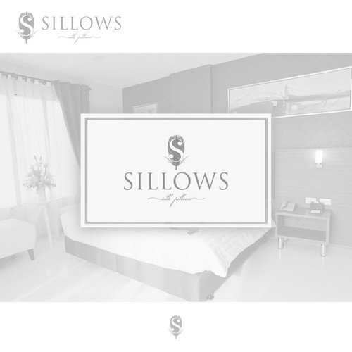 Silk logo with the title 'Logo design for Silk Pillow'
